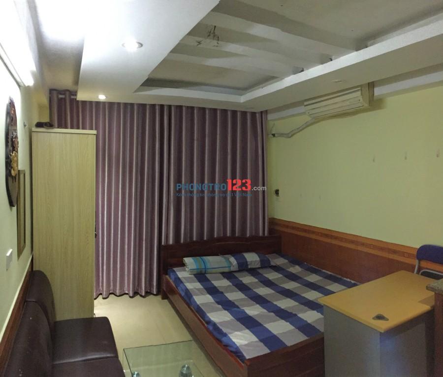 Phòng khép kín sạch đẹp quận Ba Đình đầy đủ tiện nghi, an ninh yên tĩnh