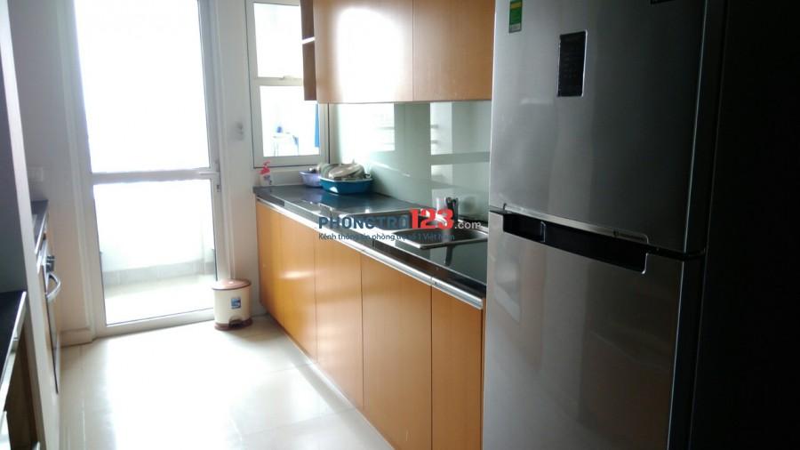 Cho thuê căn hộ Sunrise City quận 7, căn góc 2PN 106m2, nội thất đầy đủ, giá thuê 16 triệu
