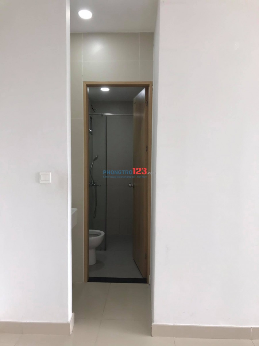 Cho thuê căn hộ An Gia Star, Nội thất bếp, 2 phòng ngủ, 1 tolet, 2 máy lạnh