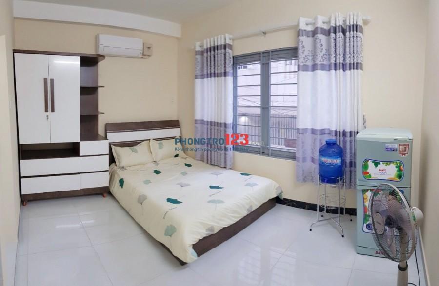 Phòng có gác, full nội thất Tân Bình