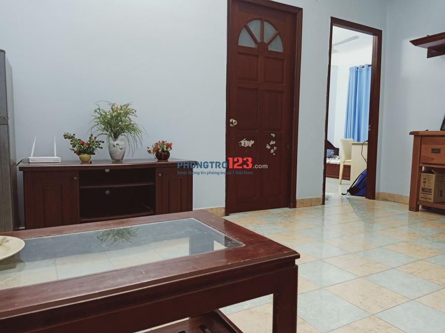 Cho nữ thuê phòng chung cư quận 2 dt 20m2 giá 3,4tr/th bao trọn gói