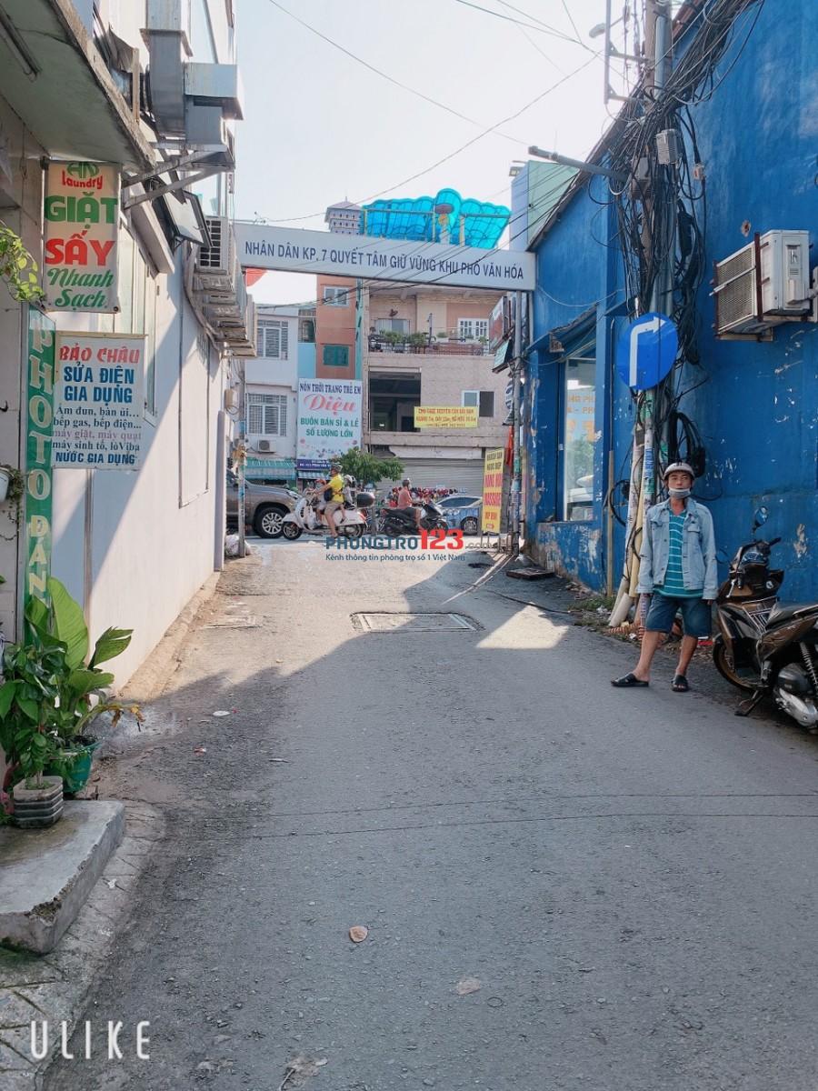 Nhà hẻm xe tải 354/1 Phan Văn Trị, 4.3x14m, 12 triệu