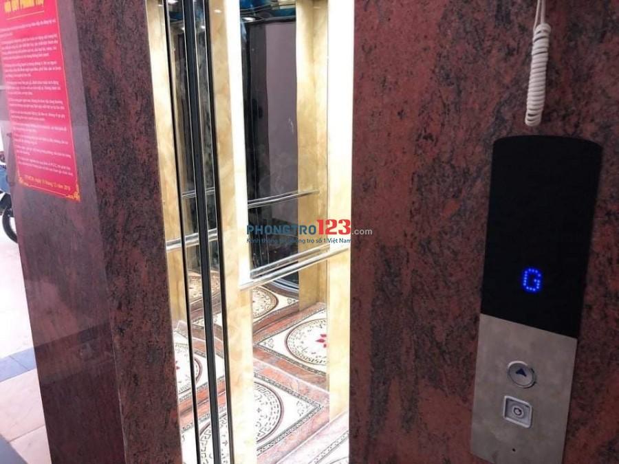 Cho thuê phòng trọ cao cấp chỉ 3tr8, 30m2 đầy đủ tiện ích thang máy nhà kiểu biệt thự