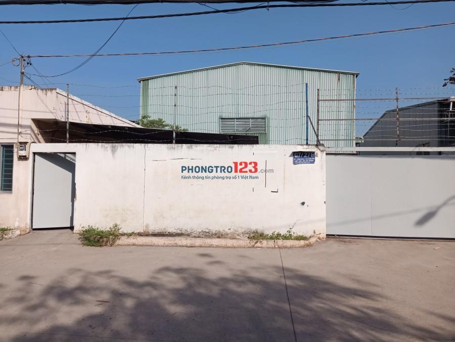 Chính chủ cho thuê 1360m2 kho xưởng MT Đường Kênh C Xã Lê Minh Xuân BChánh