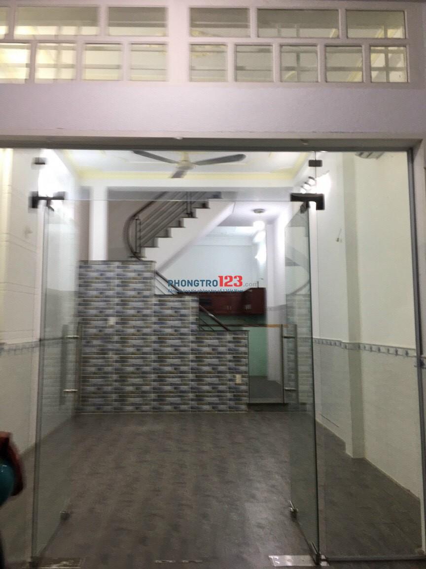 Cho thuê nhà NC 4x13 1 trệt 1 lầu tại 160/65A Phan Huy Ích P12 GVấp giá 12tr/th