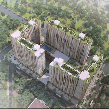 Chính chủ cho thuê căn hộ Green River Q8 mới bàn giao 75m2 2pn Full nội thất giá 9tr/th