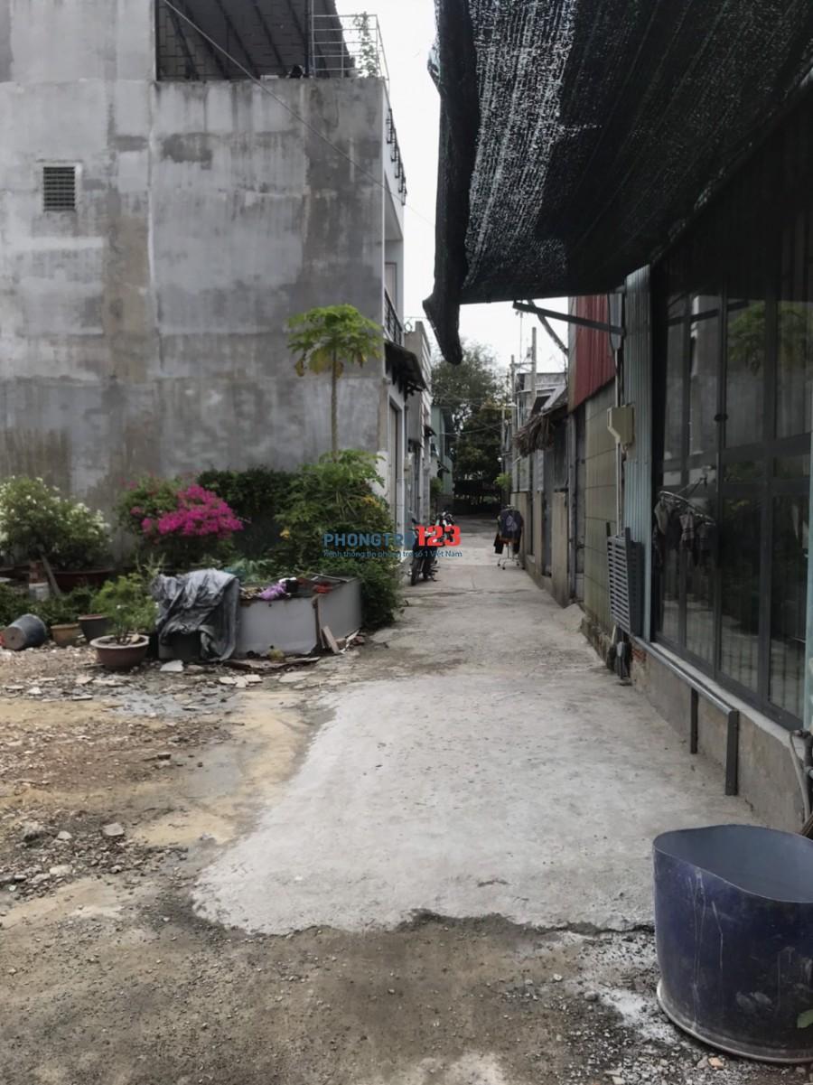 Chính chủ cho thuê phòng mới xây hẻm 36 QL1A P An Phú Đông Q12 giá 2,5tr/th