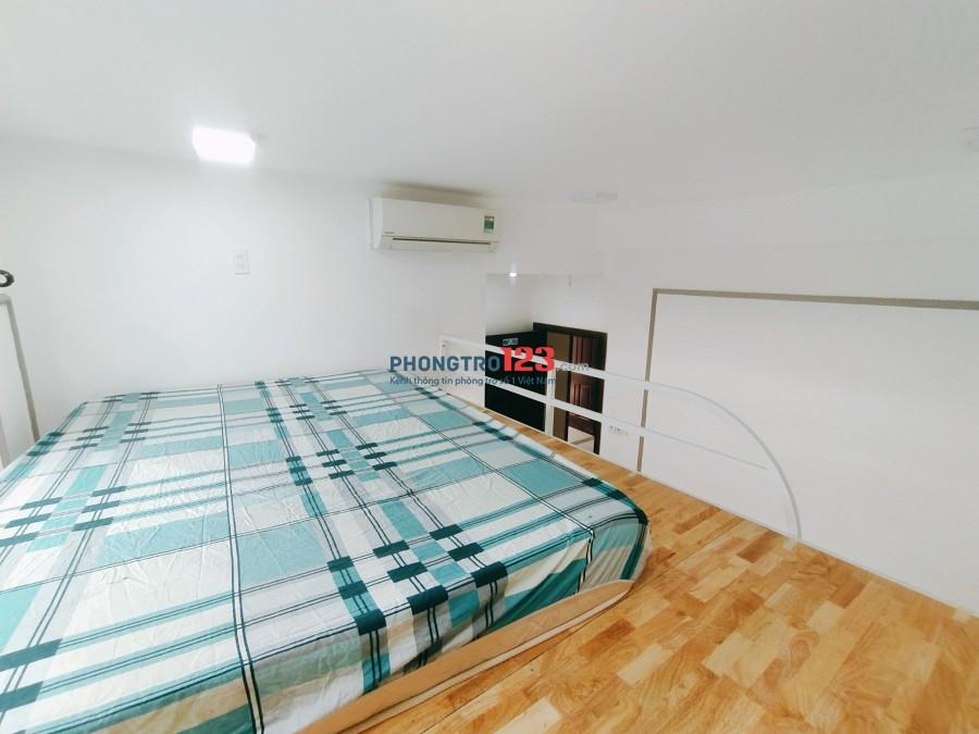 Phòng đầy đủ nội thất có gác 25m2 cây trâm gò vấp mới xây 100%