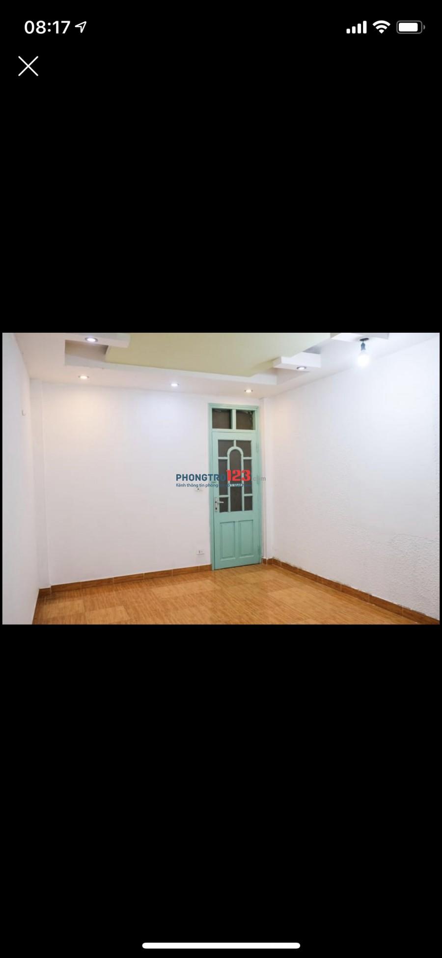 Cho thuê nhà ngõ 444 Thuỵ Khuê