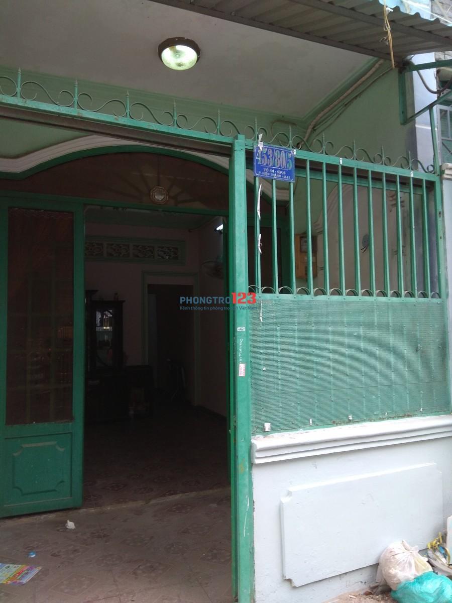 Cho thuê nhà NC có nội thất 1 trệt 1 lầu tại Lê Văn Khương P Hiệp Thành Q12 giá 5tr/th