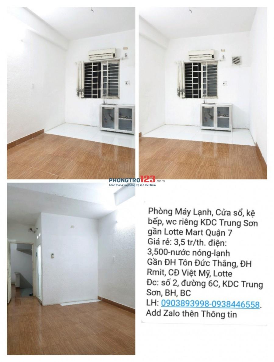 Phòng trong tòa nhà Mặt Tiền Đường Ôtô, Ban Công view Công Viên Xanh,Thoáng đón gió trời khu Trung Sơn giáp C.Him Lam Q7