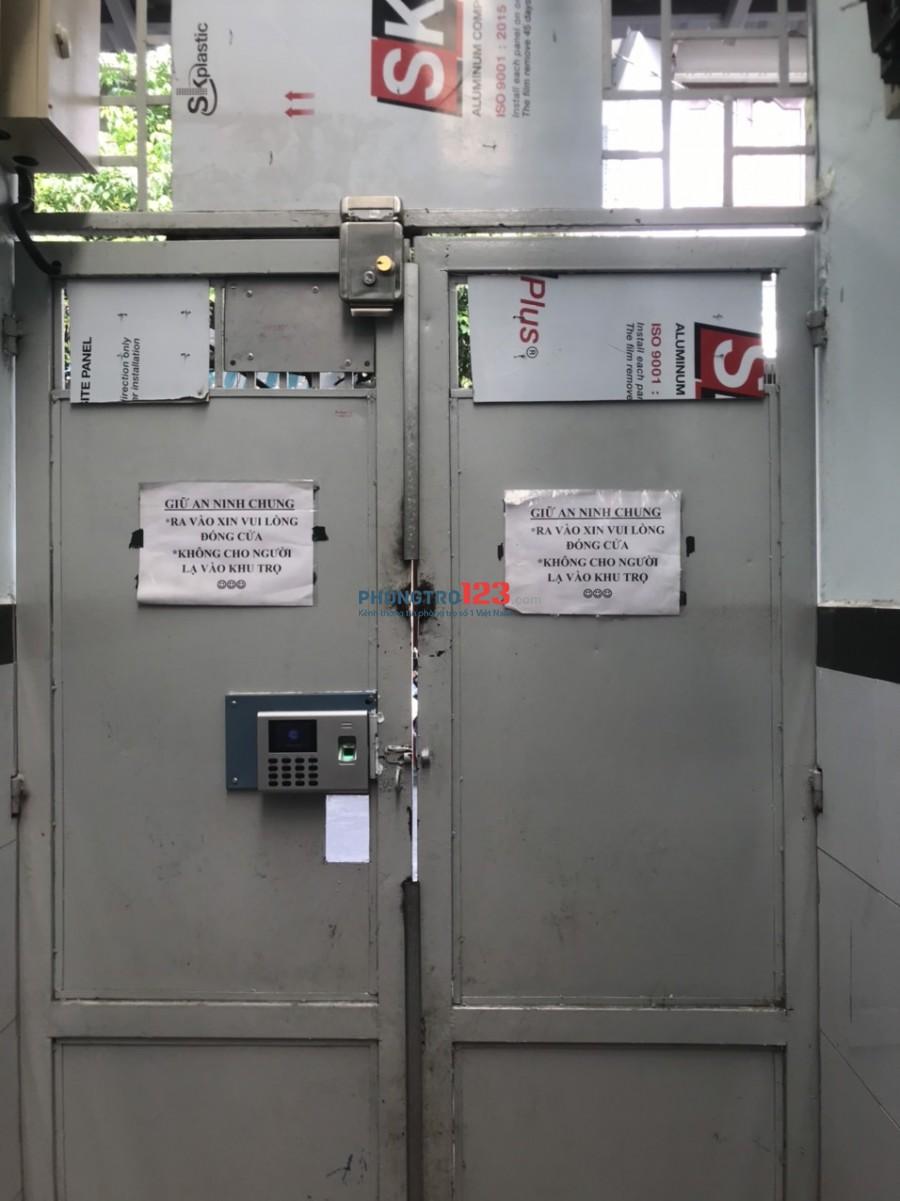 Cho thuê phòng từ 2.5tr đến 2.8 triệu có máy lạnh đường Thoại Ngọc Hầu - Tân Phú