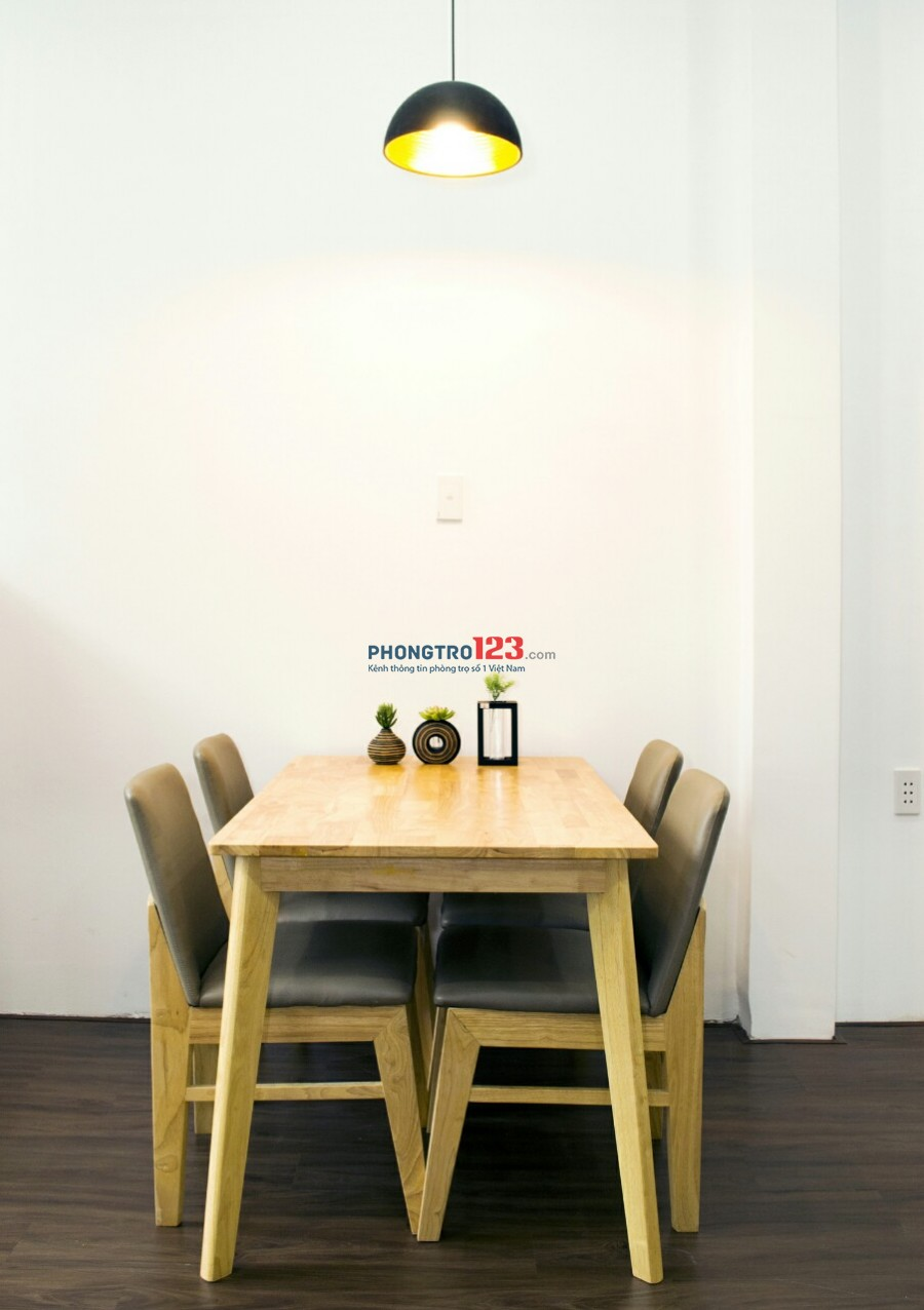 Căn hộ 4x18 Full nội thất cao cấp, hẻm xe hơi đường PHẠM HÙNG Q8 (tầng trệt)