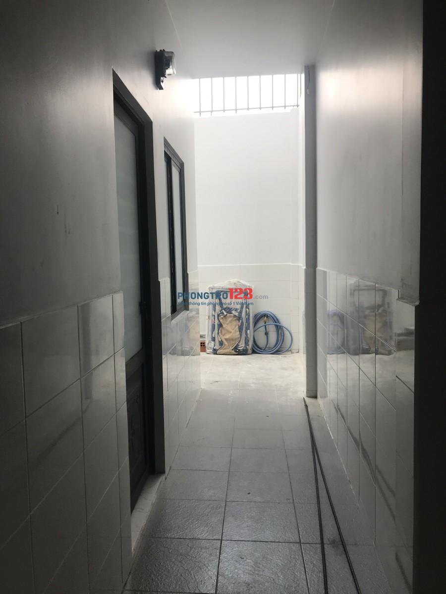 Phòng trọ mới xây gần cầu Tham Lương, Quận 12