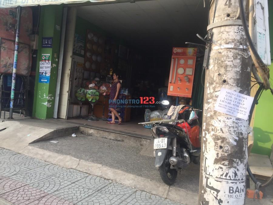 Chính chủ cho thuê MB 48m2 mặt tiền Nguyễn Ảnh Thủ P Tân Thới Hiệp Q12