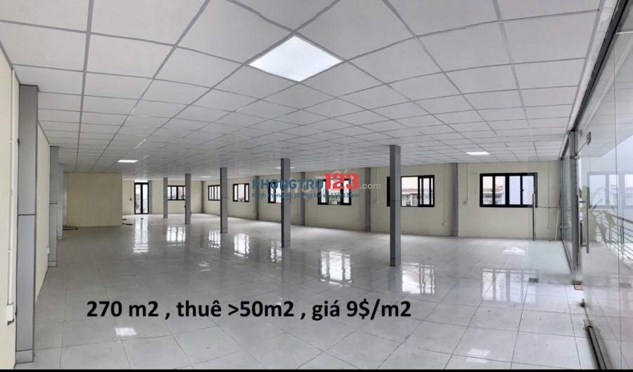 Chính chủ cho thuê VP toà nhà mới xây MT đường Số 7 P HBC Q TĐức giá từ 5tr/th
