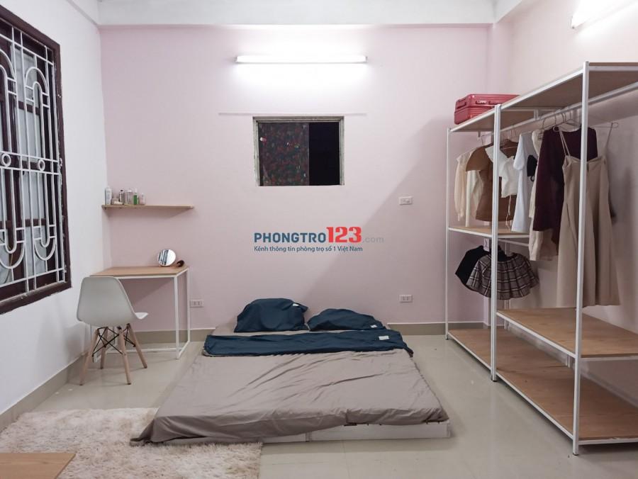 Cho thuê phòng trọ Hoàng Mai 35m2