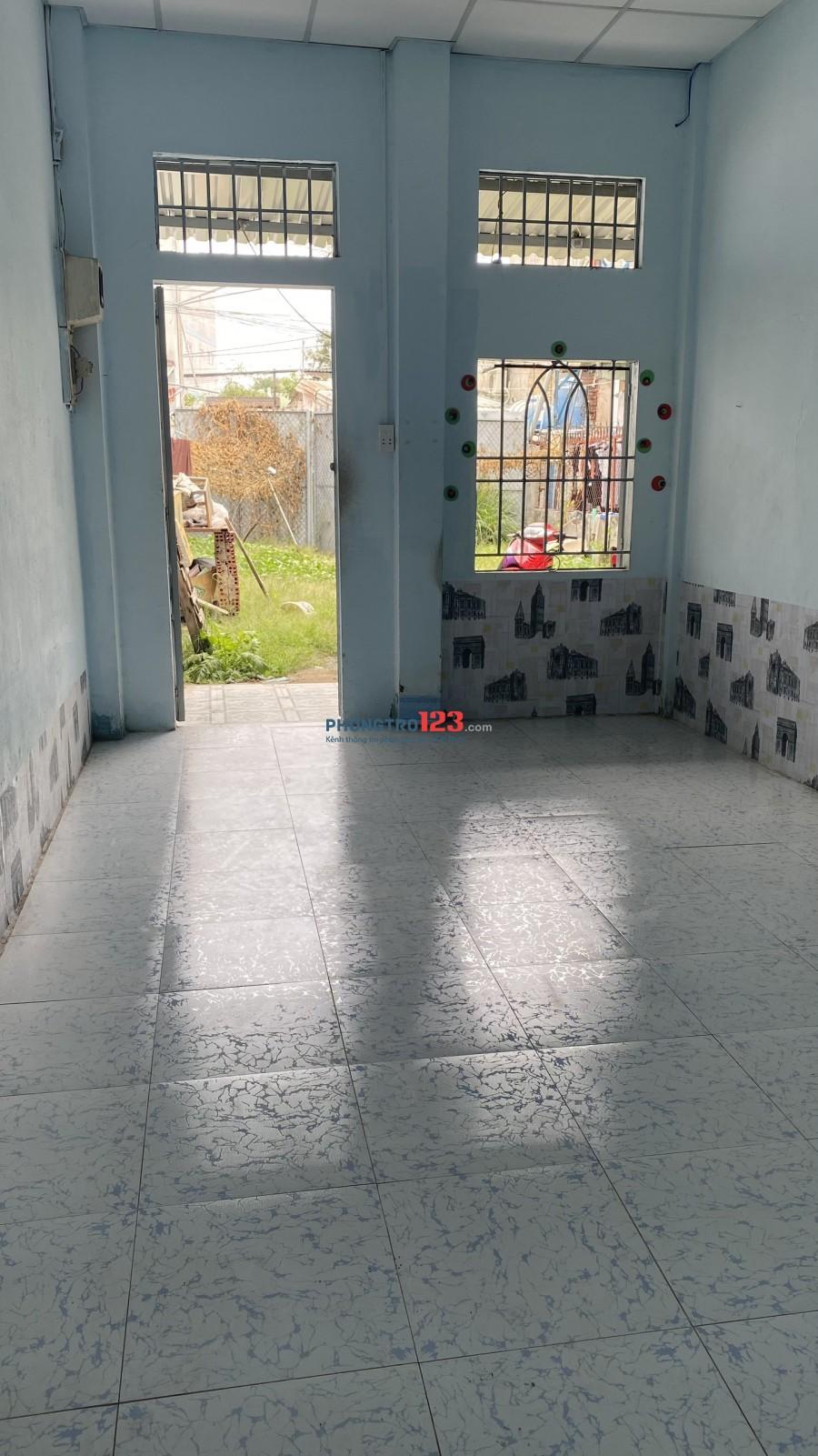Cho thuê Phòng trọ quận 9 giá 2.2tr/tháng sân rộng 50m2, WC riêng
