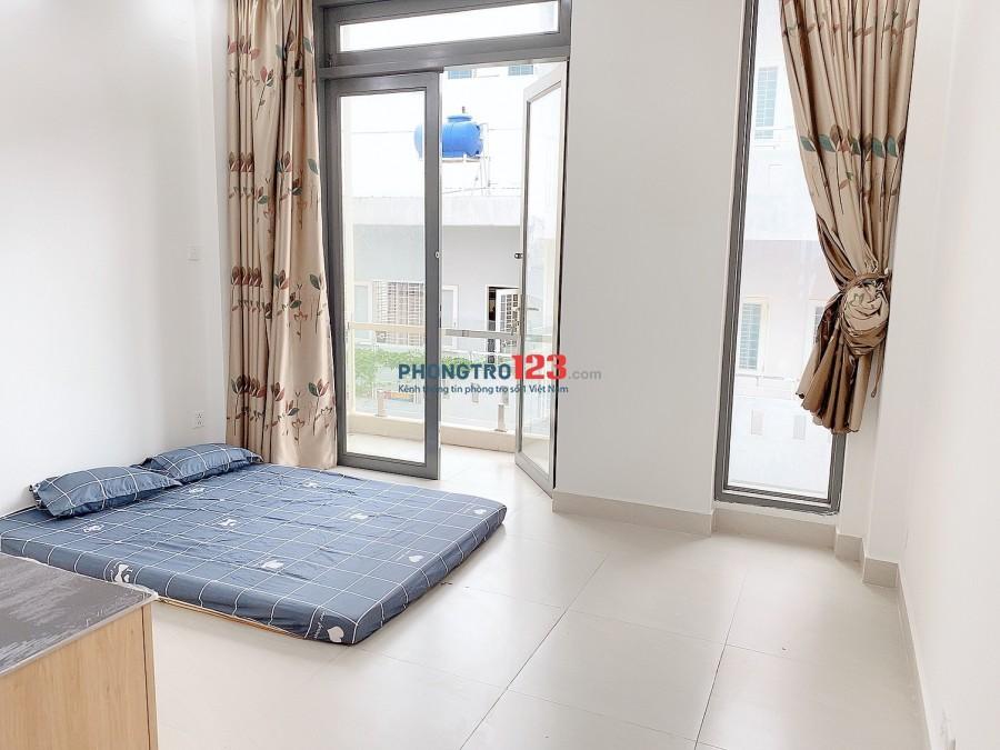 Căn hộ mới xây ở Tân Phú có ban công_FULL nội thất