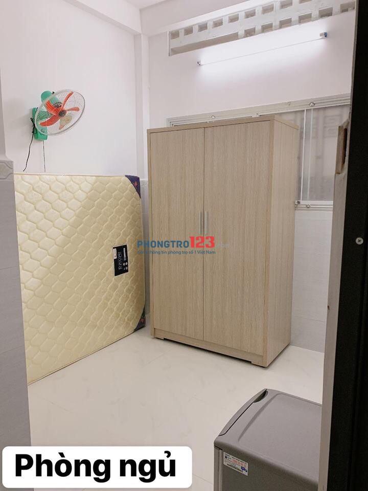 Chính chủ cho thuê phòng mới Full nội thất tại 98 Ngô Quyền P7 Q5 giá từ 3,5tr/th