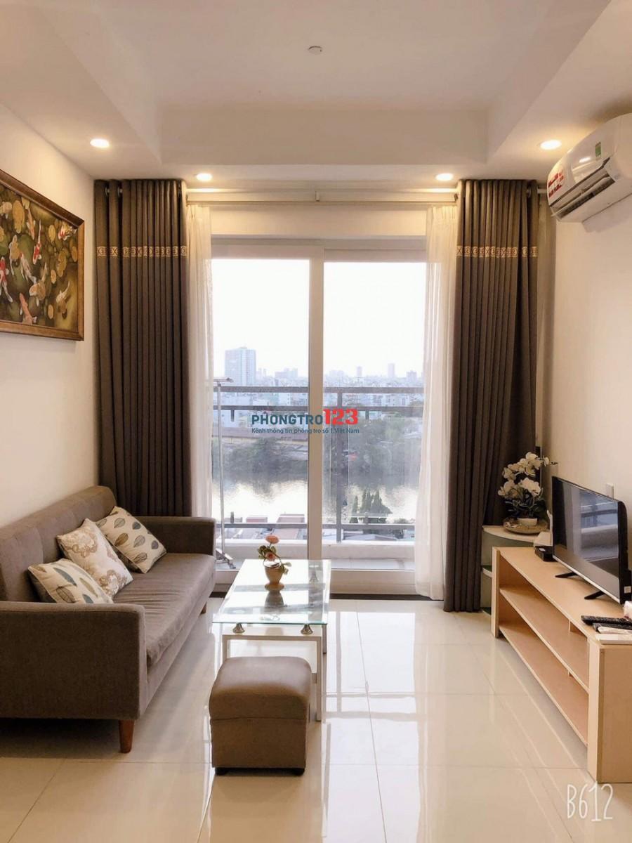 Chính chủ cho thuê căn hộ Florita Q7 55m2 2pn Fulll nội thất cực đẹp giá 12tr/th