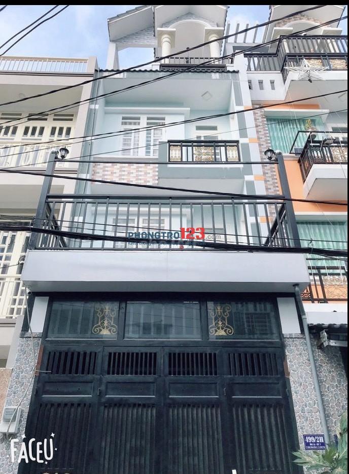 Chính chủ cho thuê nhà NC 3,5 tấm tại 499/2H Mã Lò P BHH A Q Bình Tân giá 12tr/th