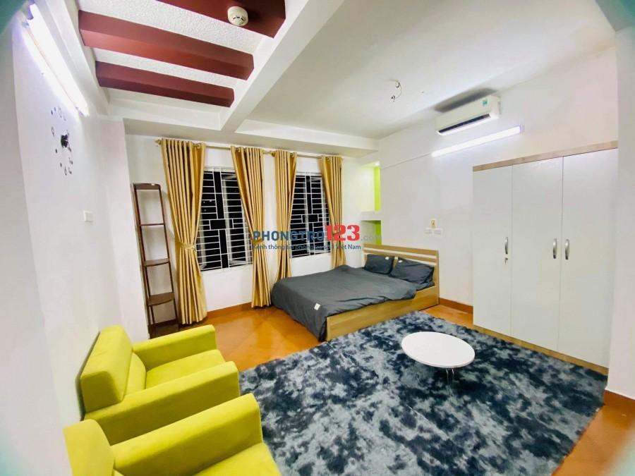 Cho thuê phòng studio rộng thoáng mát 40m2