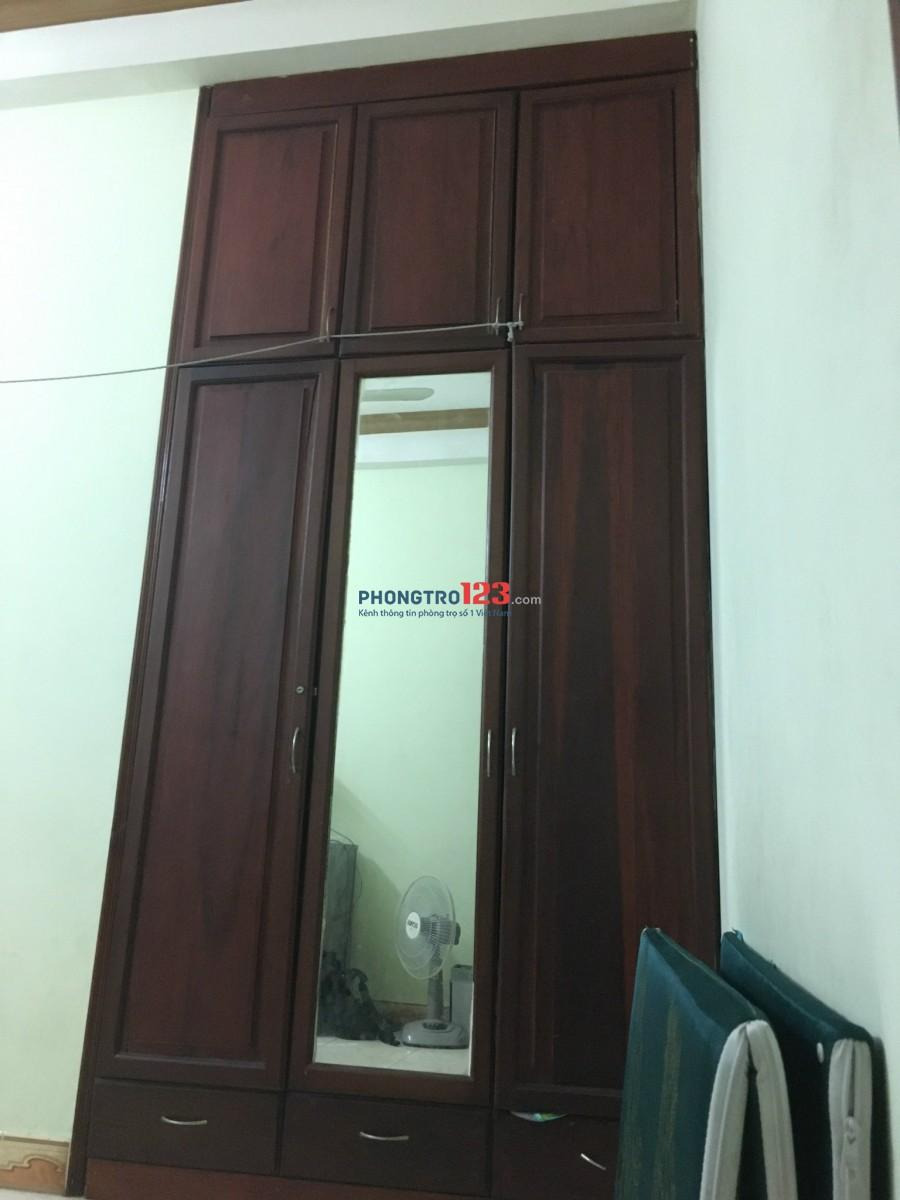 Phòng trọ ở gần công viên phần mềm Quang Trung