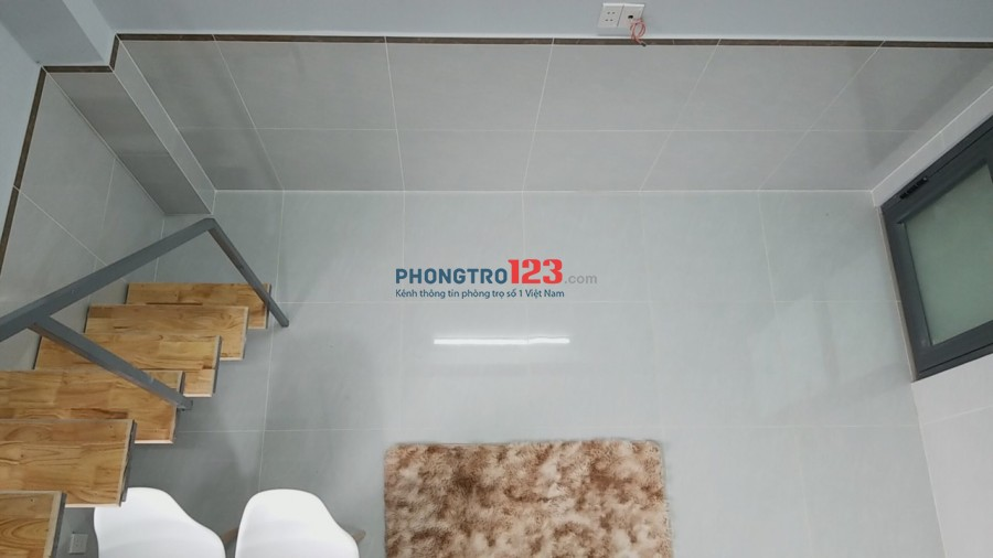 CHDV/Phòng trọ cao cấp + gác lửng, Full nội thất trung tâm - Q. Bình Thạnh