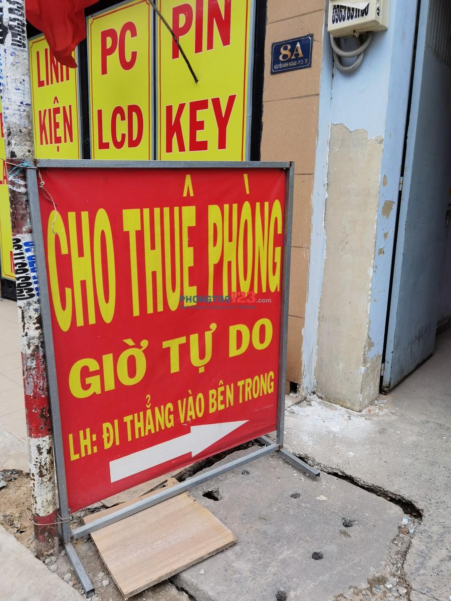 Cho thuê phòng mới xây có kệ bếp,đ/c: 06 Nguyễn Minh Hoàng, P.12, Q. Tân Bình