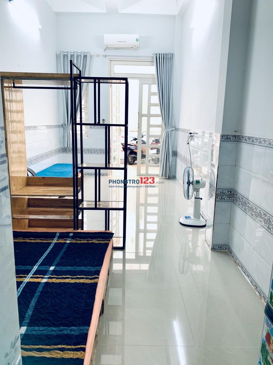 Phòng Trọ có phòng ngủ riêng 25m2 thống nhất