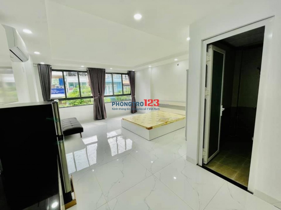 Căn hộ studio - 1PN xịn sò ngay Trần Văn Đang quận 3 mới xây 100%
