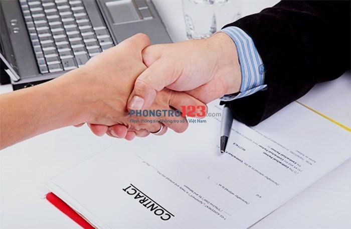 Kí hợp đồng thuê