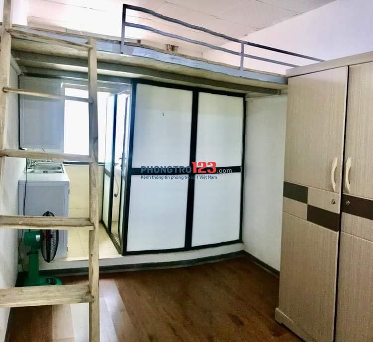 Chính chủ cho thuê chung cư mini mới xây 15m2 khu Đặng Văng Ngữ, phòng khép kín, đủ đồ, giá rẻ