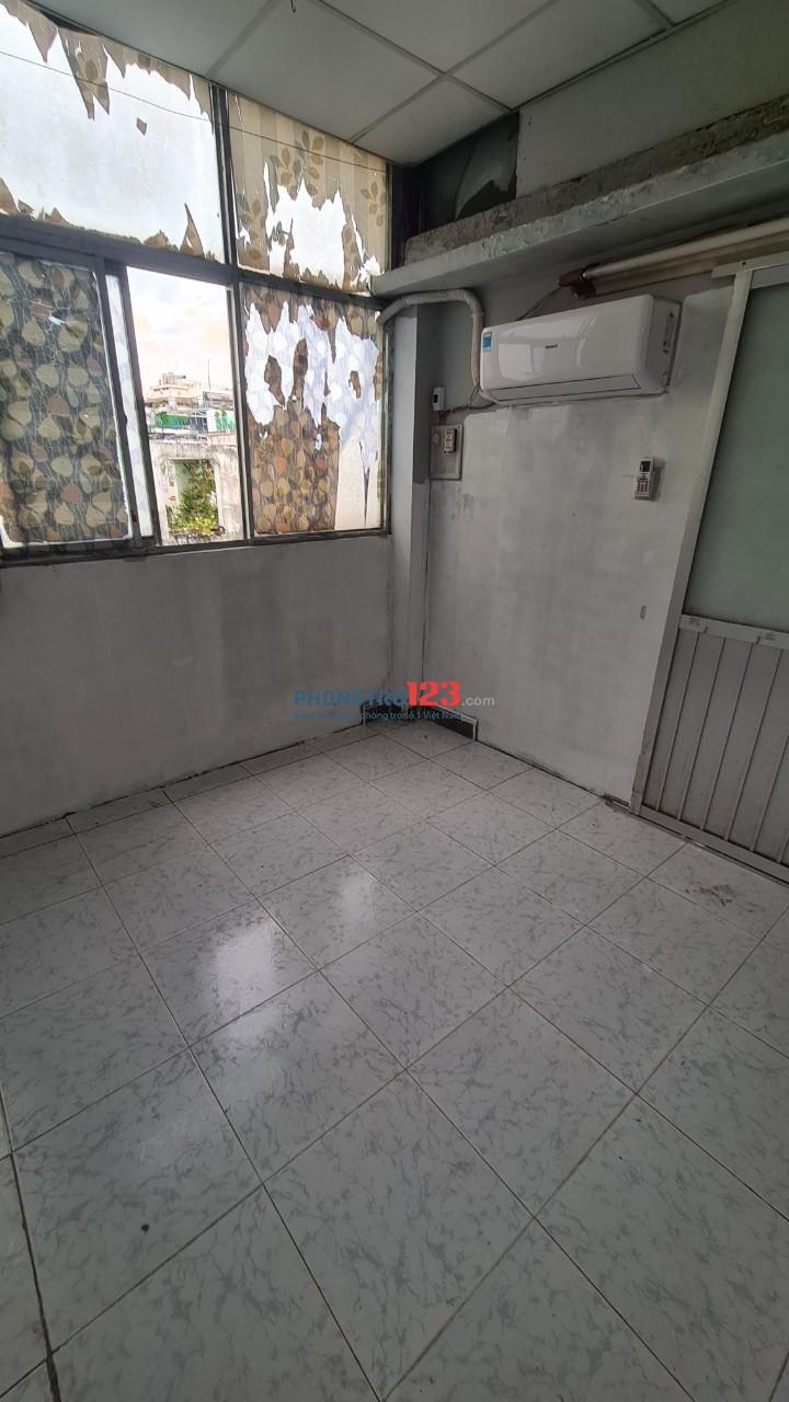 Phòng máy lạnh 2tr/tháng, gần Cao Thắng, Quận 3 có thể ở 1 - 3 người