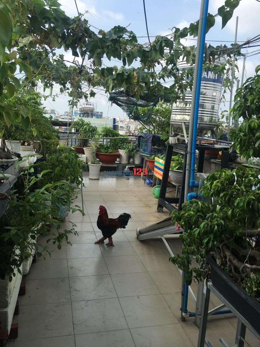 Phòng trọ mới xây Hồ Đắc Di kế siêu thị bic c porona trường chinh tân phú