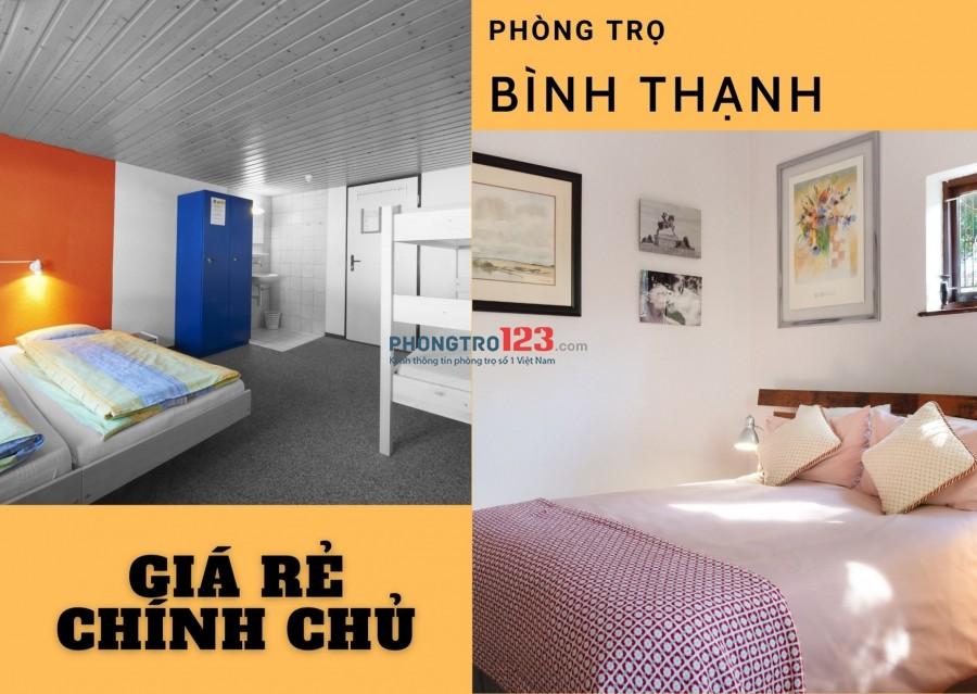 Phòng trọ quận Bình Thạnh TPHCM - phongtro123.com