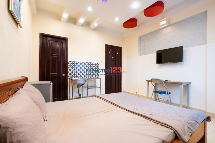 Phòng 30m2-4,5tr, tiện nghi đầy đủ ngay CV Gia Định- Sân bayTSN - Q.Phú Nhuận