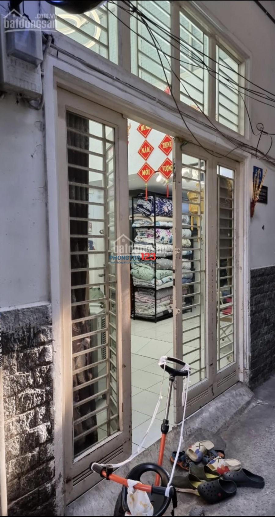 Chính chủ cho thuê nhà NC 4x8m hẻm 61 Trần Khắc Chân P Tân Định Q1 giá 14tr/th