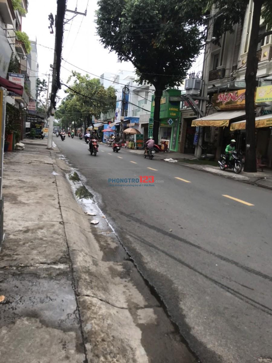 Cho thuê tầng 1 60m2 KD Or ở nhà mặt tiền 260 Thạch Lam P Phú Thạnh Q TPhú giá 5tr/th