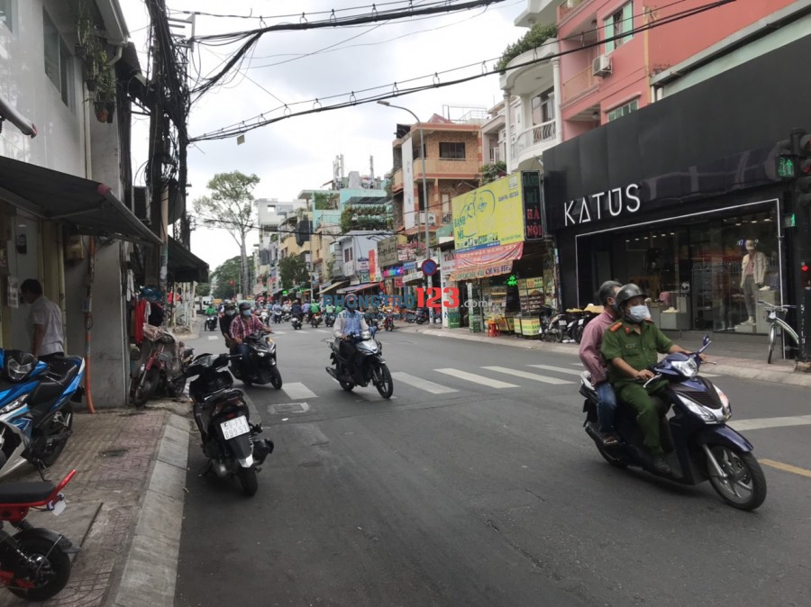 Cho thuê mặt bằng 60C Nguyễn Thông P9 Q3 tiện kinh doanh , chính chủ cho thuê