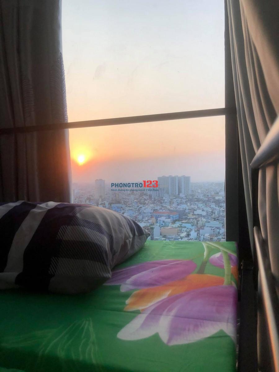Ký túc xá(Dorm) , phòng trọ ở ghép tầng 21 penthouse