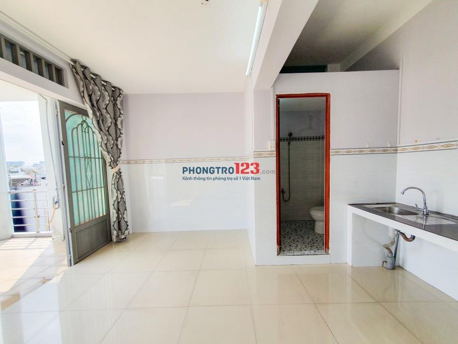 Cho thuê phòng có ban công (đường Nguyễn Thượng Hiền, GV - B.Thạnh)