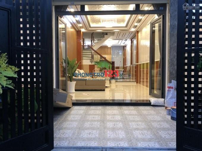 Cho thuê nhà 3 LẦU 4PN, Khu SG MỚI, Nhà bè