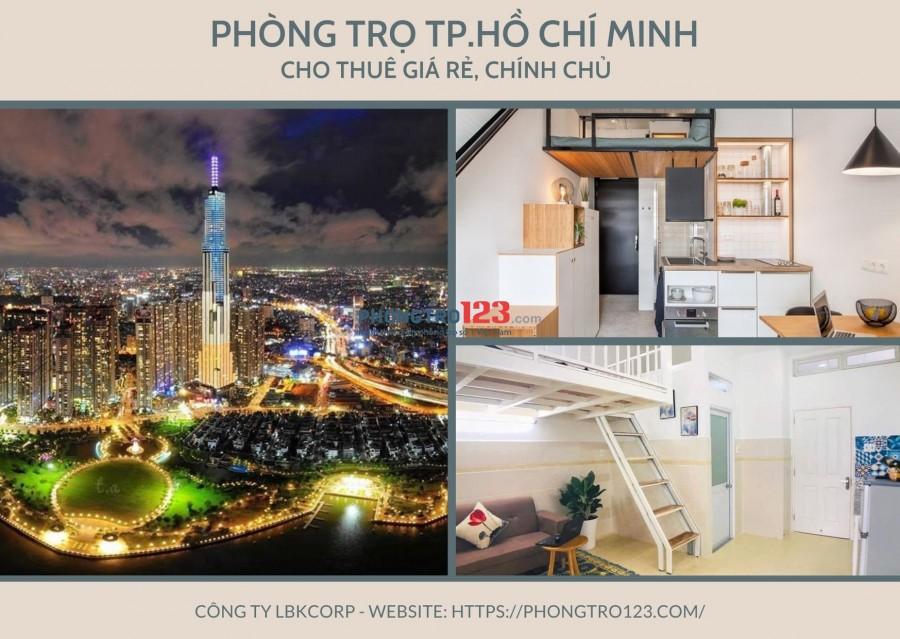 Cho thuê phòng trọ Thành phố Hồ Chí Minh - phongtro123