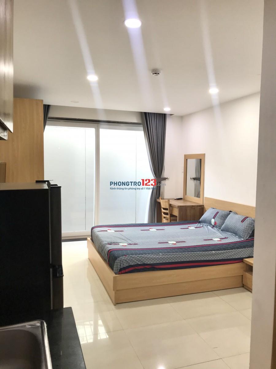 Căn hộ mini cao cấp 91 Nguyễn Hữu Cảnh, full nội thất, ban công riêng, giờ giấc tự do, gần The Manor