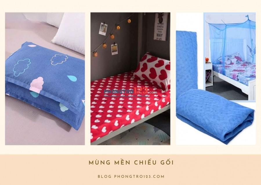 Giường, chăn ga gối đệm blog phongtro123