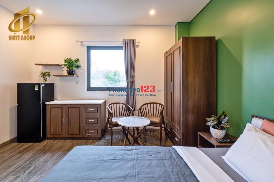 Căn hộ mới xây cửa sổ bếp riêng Võ Văn Tần quận 3 gần công viên Tao Đàn