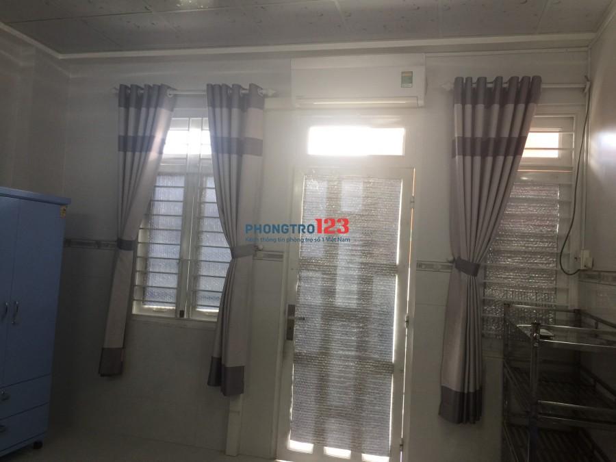 Phòng lớn nhà mới xây đường Nguyễn Thị Thập, Q.7 - gần ngã tư Huỳnh Tấn Phát, cầu Phú Mỹ