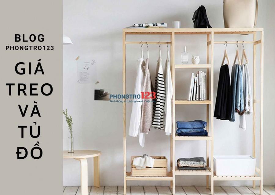 Tủ treo đồ trong phòng blog phongtro123